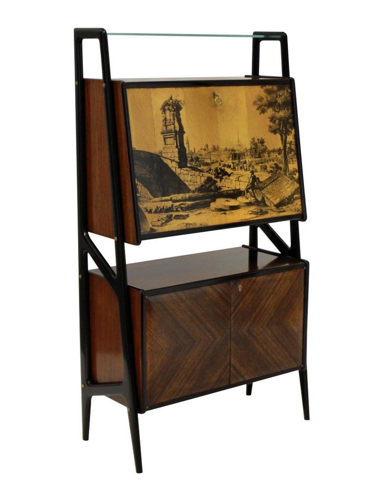 Italian Stylish Bar Cabinet by Dassi