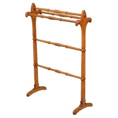 Stylish Gothic Revival Oak Towel Rail