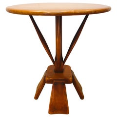 Stylish Midcentury Accent Wood Table