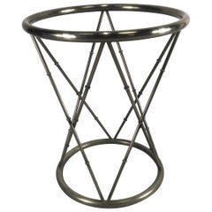Stylish Modern Regency Dining Table Base / Pedestal Attributed to Maison Jansen