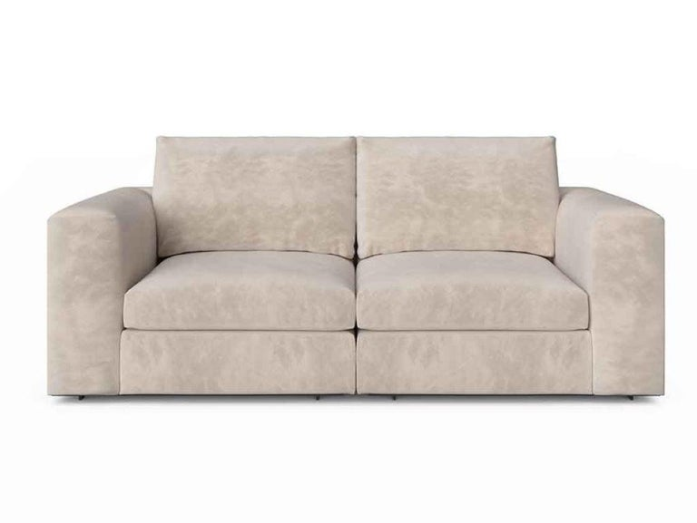Modern Stylish Sofa Seater Frame Solid Timber Plywood Upholstered Leather or Fabric For Sale