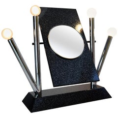Stylish Vanity Mirror Yukka by Anna Anselmi for Bieffeplast, 1980