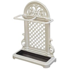 Stylish Victorian Cast Iron Umbrella Stand