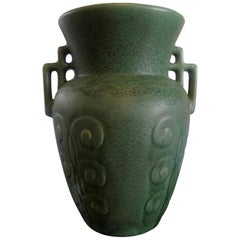 Stylized Art Deco Pottery Vase
