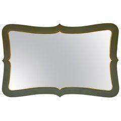 Stylized Green Mirror