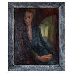 Stylized Portrait of a Lady, Iris Hardcastle, circa 1940