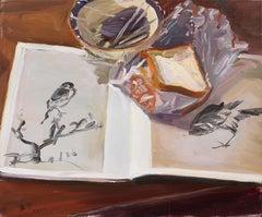 Chinese Contemporary Art by Su Yu - Birds