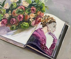 Chinese Contemporary Art by Su Yu - Flowers & Beauty