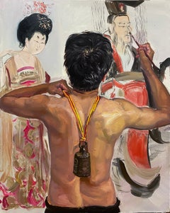 Chinese Contemporary Art by Su Yu - Golden
