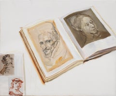 Chinese Contemporary Art by Su Yu - Rembrandt & Velazquez Sketches
