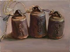Chinese Contemporary Art by Su Yu - Three Weights