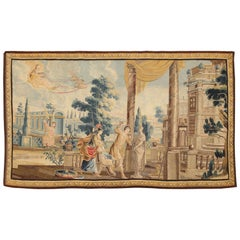 """Sublime 17th Century Flemish Tapestry """"Allegory of the Sculptor"""" Wool and Silk"""