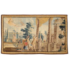 "Sublime 17th Century Flemish Tapestry ""Allegory of the Sculptor"" Wool and Silk"