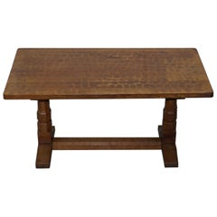 Sublime circa 1950s Robert Mouseman Thompson 6 Person Dining Table Must See