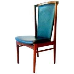 Substantial Danish Eric Buck Designed Desk Chair, 1960s