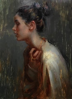 """Longing,"" Oil Painting"