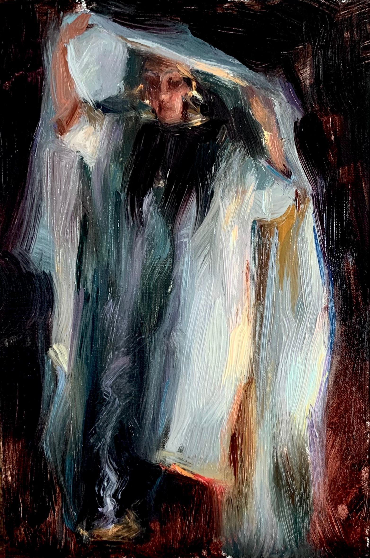 """Mystic,"" Oil Painting"