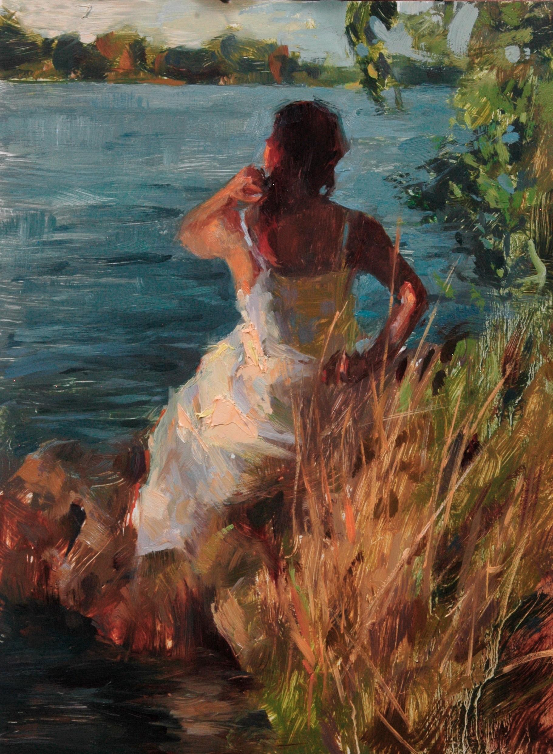 """Summer at Fair Oaks,"" Oil Painting"