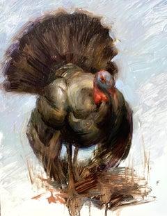 """Tom,"" Oil Painting"