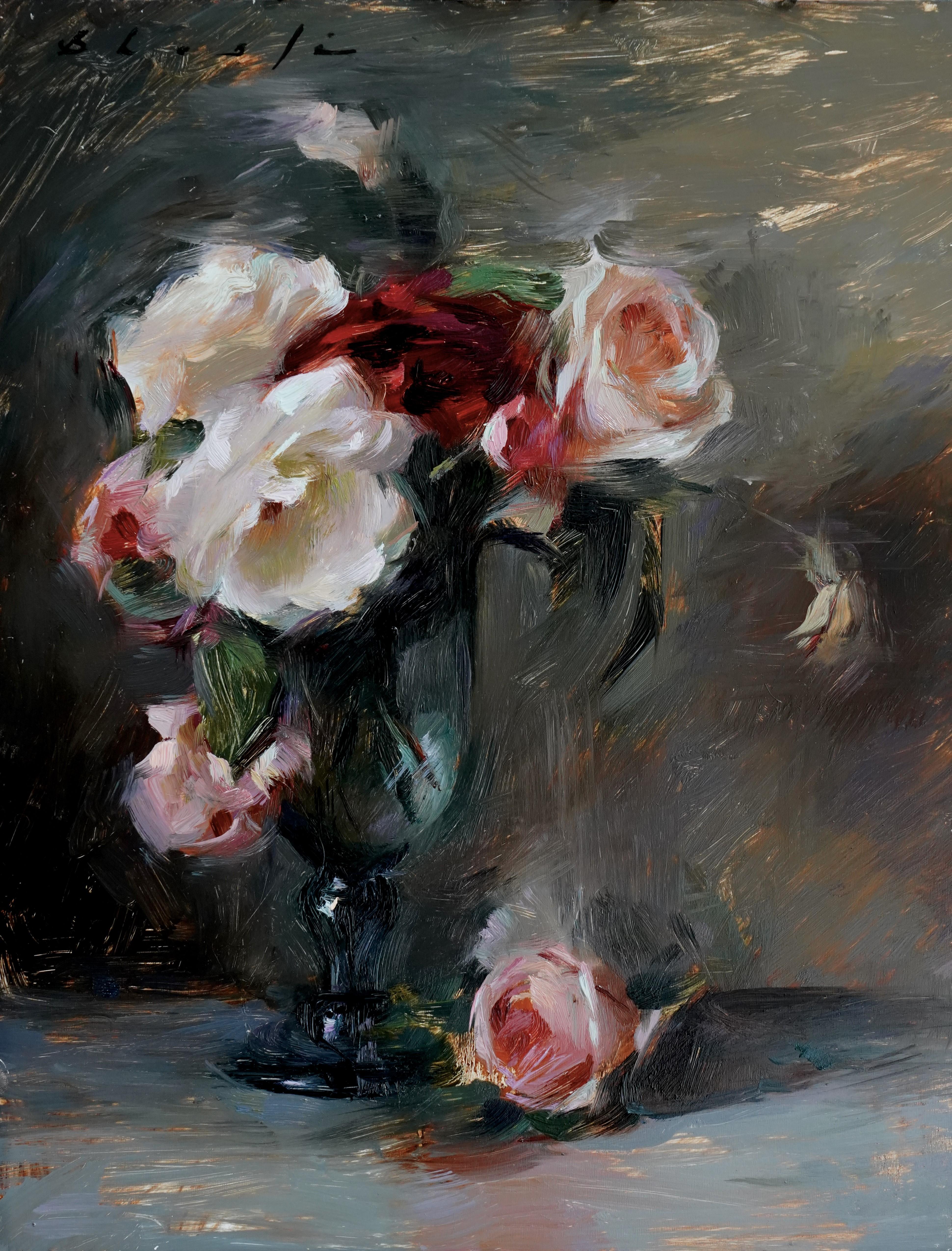 """""""Vintage Beauties,"""" Oil Painting"""