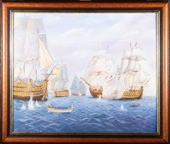 Sue H. - Contemporary Oil, Naval Battle