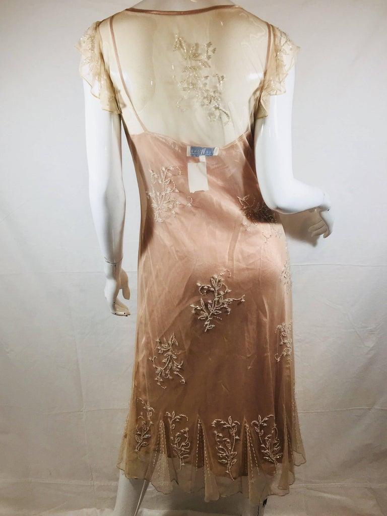 Sue Wong Embellished Dress For Sale at 1stdibs