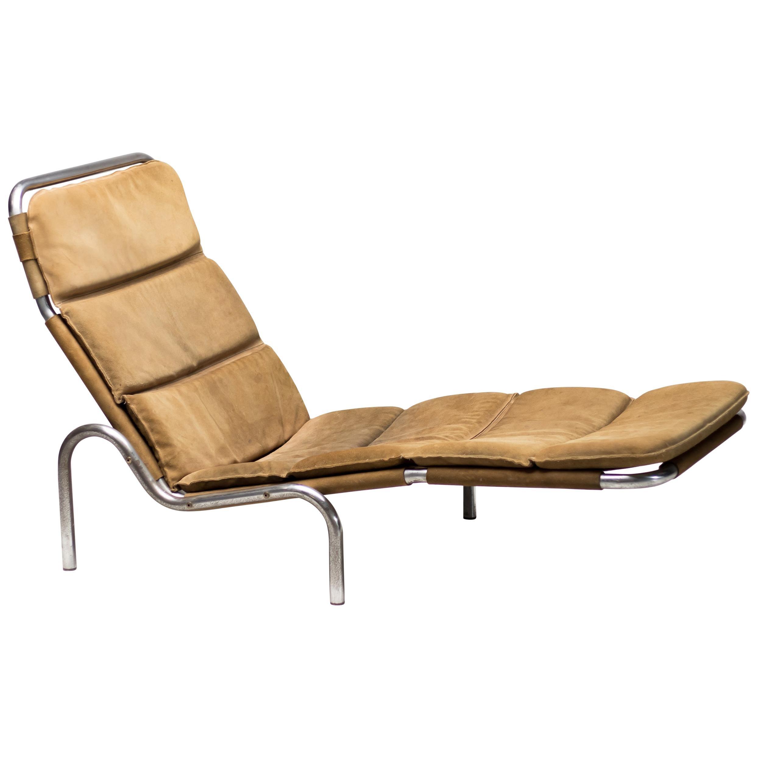 Suede Soft Pad Chaise Lounge by Erik Ole Jørgensen