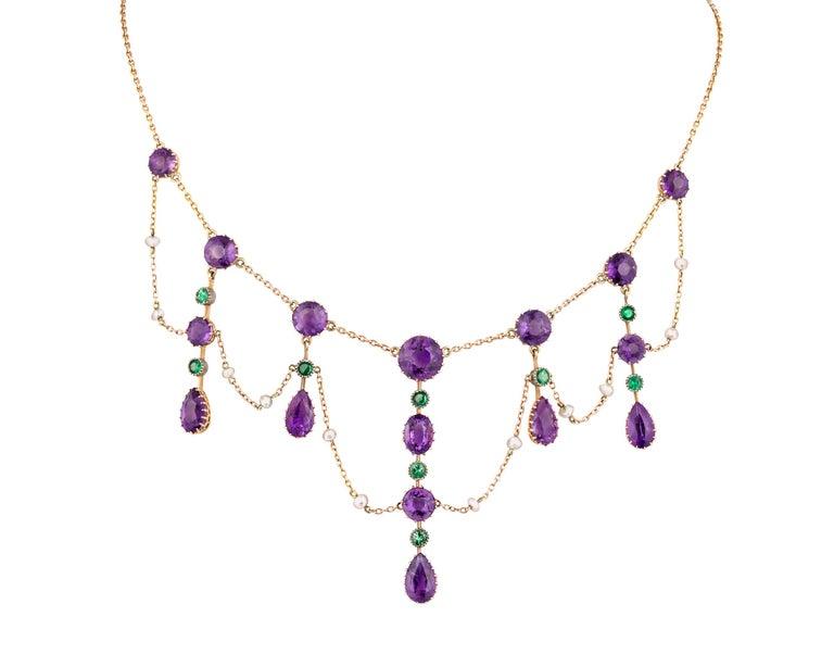 Edwardian Suffragette Collar Necklace