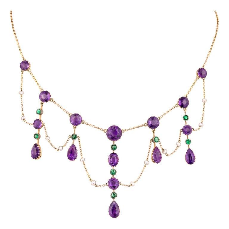 Suffragette Collar Necklace