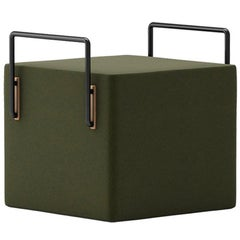 Suit Stool Olive Green by Frank Chou
