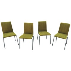 Suite of 4 Chairs Paulin Style, Gipsen, circa 1960
