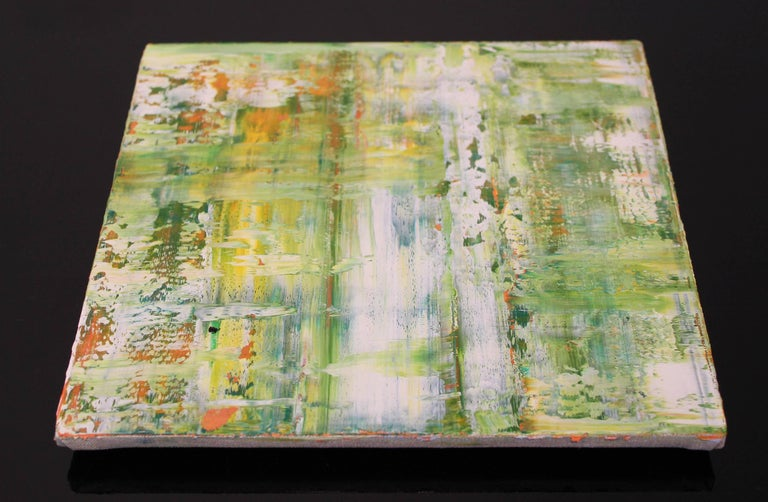 Suite of Four Abstract Color Field Oil Paintings by Douglas Leon Cartmel For Sale 4