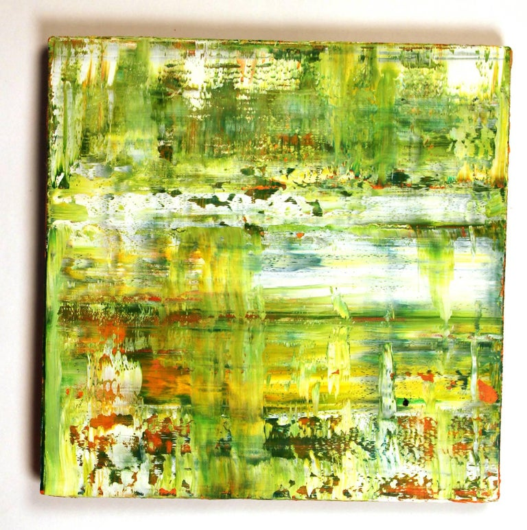 American Suite of Four Abstract Color Field Oil Paintings by Douglas Leon Cartmel For Sale