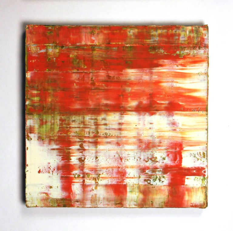 Suite of Four Abstract Color Field Oil Paintings by Douglas Leon Cartmel In Excellent Condition For Sale In Dallas, TX