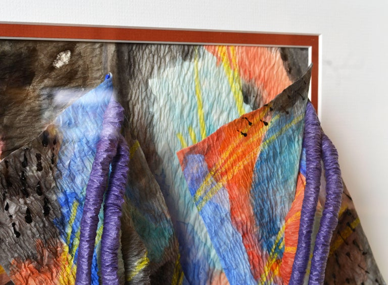 Suite of Four Wall Sculptures by Akiko Sugiyama, Noted Japanese/American Artist For Sale 4