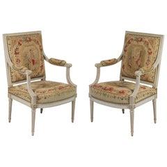 Suite of Louis XVI Seat Furniture by Henri Jacob