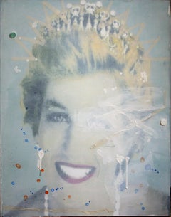 """""""Nature and Human Relationships – Embrace 3 – 50F"""" Portrait of Princess Diana"""