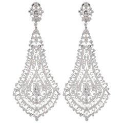 Olympus Art Cretified Sulatana Diamond Earrings