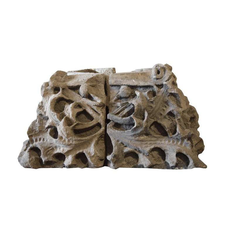 Sullivan Designed Capital from the Chicago Stock Exchange In Good Condition For Sale In Chicago, IL