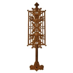 Sullivan Designed Stair Baluster from Schlesinger and Mayer Department Store