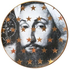 Sultan Gold Porcelain Plate 03