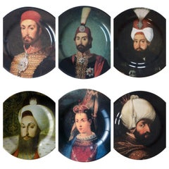Sultan Porcelain Dessert Plates Set of 6