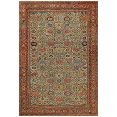 Sultanabad Antique Handwoven Wool Rug