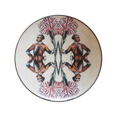 Sultan's Journey Soldier Porcelain Plate by Patch NYC for Les-Ottomans