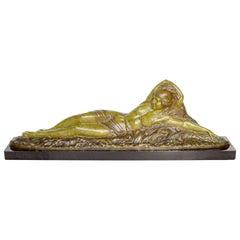 'Summer' an Art Deco Bronze Sculpture by Demétre Chiparus French, circa 1925