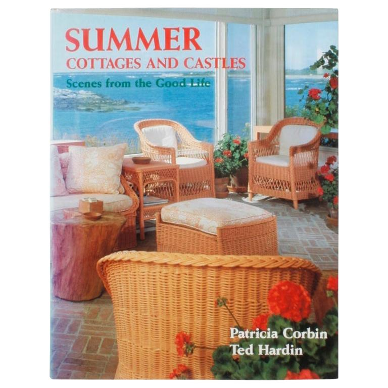 """Summer Cottages and Castles, Scenes from the Good Life,"" First Edition Book For Sale"