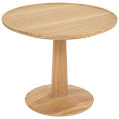 Summer Studio White Oak Lotus Side Table