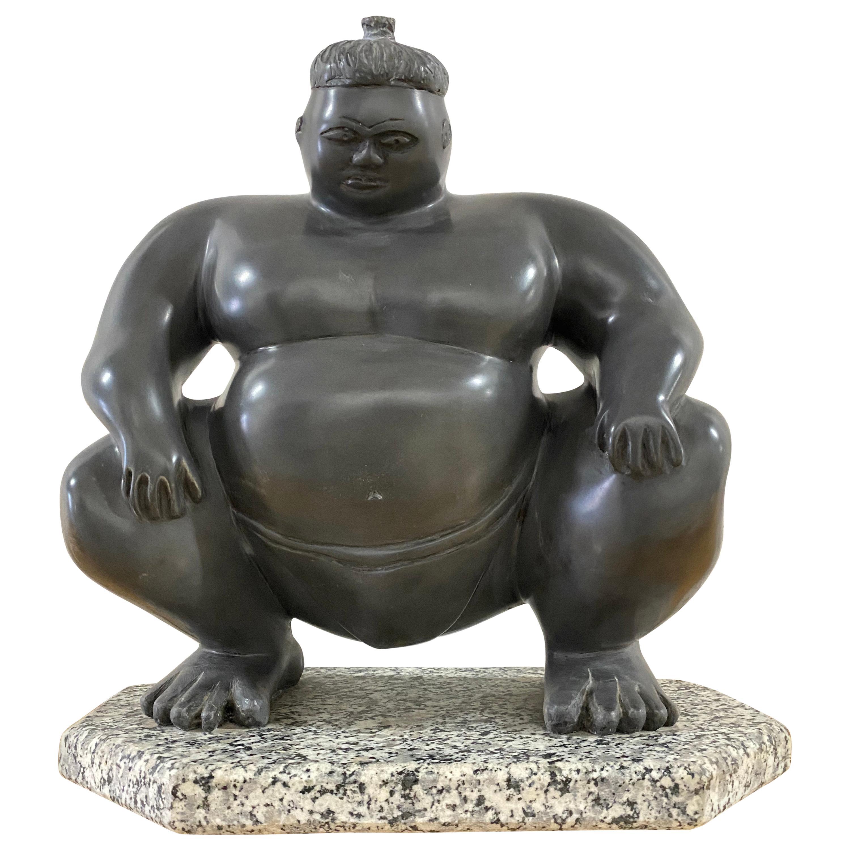 Sumo Wrestler Sculpture