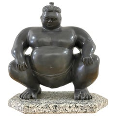 Sumo Wrestler Sculpture