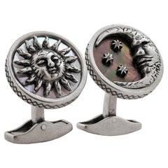 Sun and Moon Cufflinks